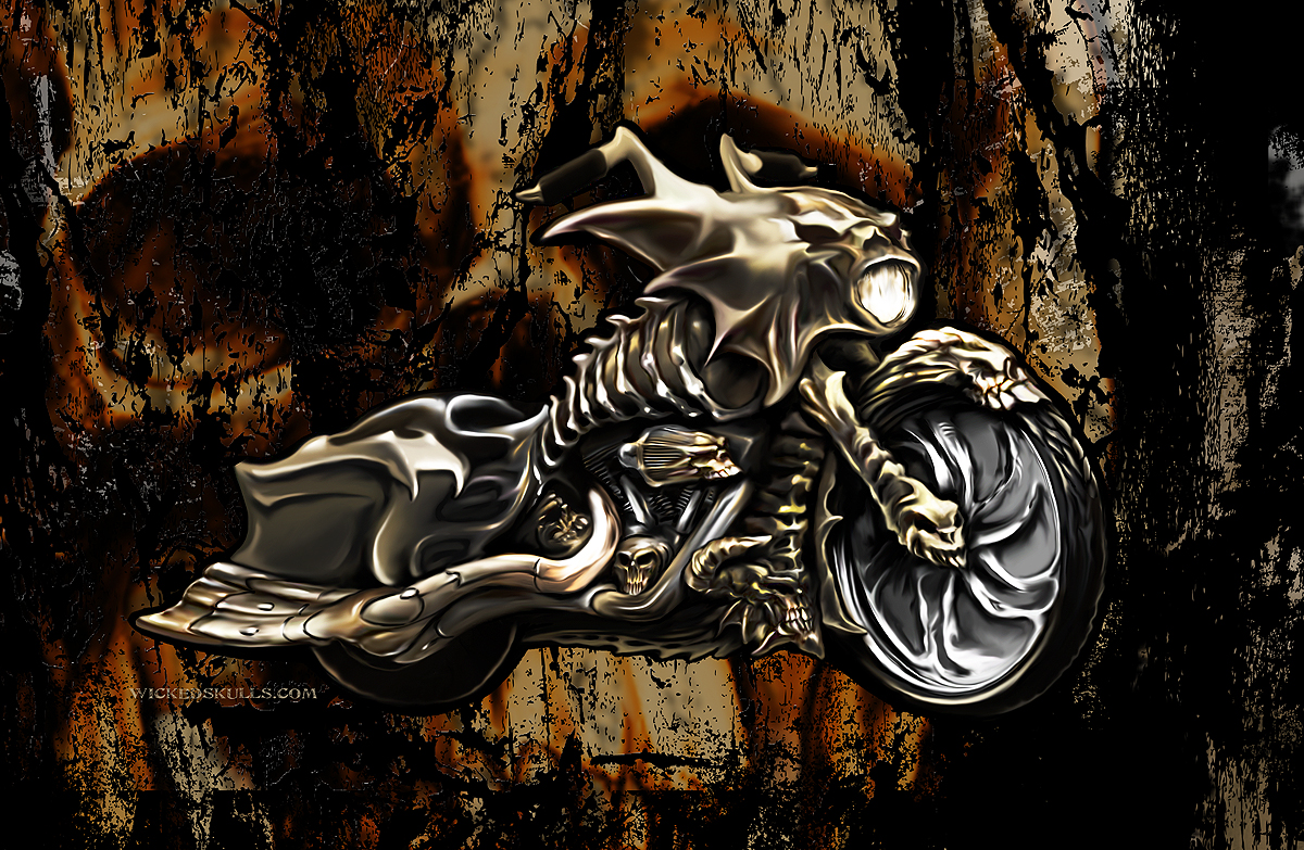 Evil Bones Motorcycle Cases For Iphone Galaxy Ipod