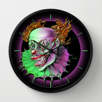 Demon Clown Clock