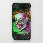 Evil Demon Clown by Spano iPod Case
