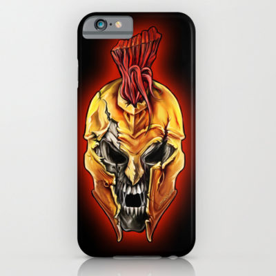 Evil Spartan Warrior Skull iPhone 6 Case