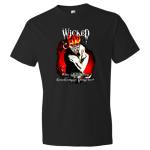 WICKED Insanity - Crazy Demon Skeleton in straight jacket Shirt