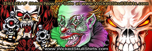 Wicked Skulls - Extreme Shirt