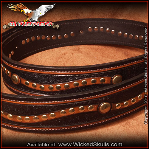 Jekyls Hydes - Leather Belt - Style -01