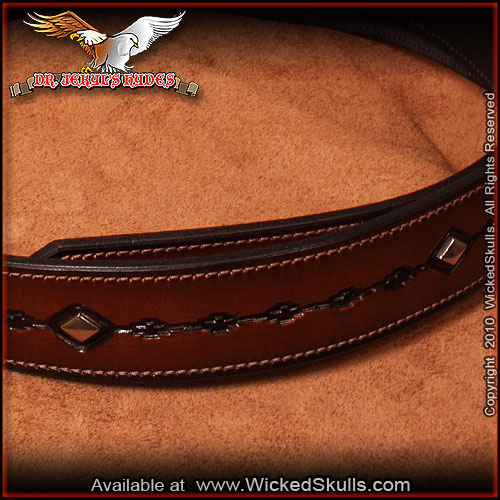 Jekyls Hydes - Leather Belt - Style -03