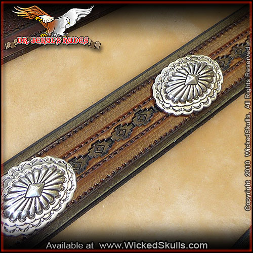 Jekyls Hydes - Leather Belt - Style -24