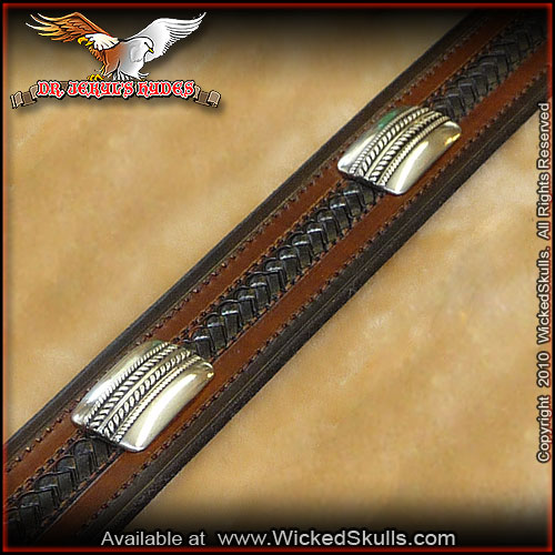 Jekyls Hydes - Leather Belt - Style -25